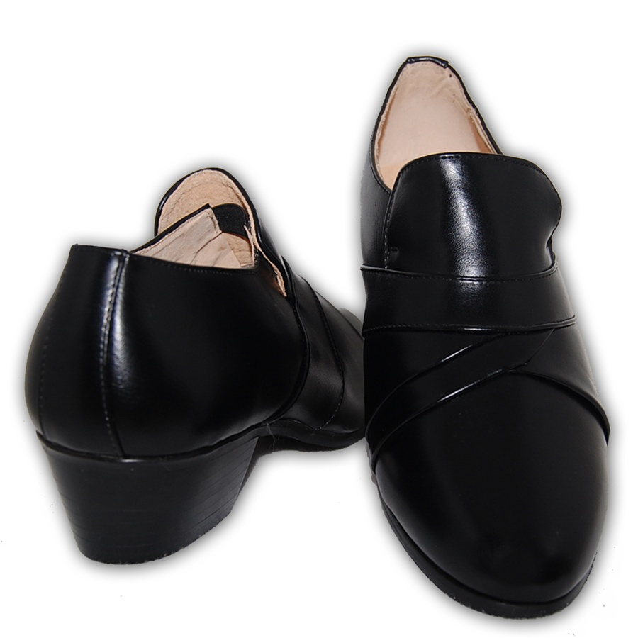 classic cuban heel men dress shoes