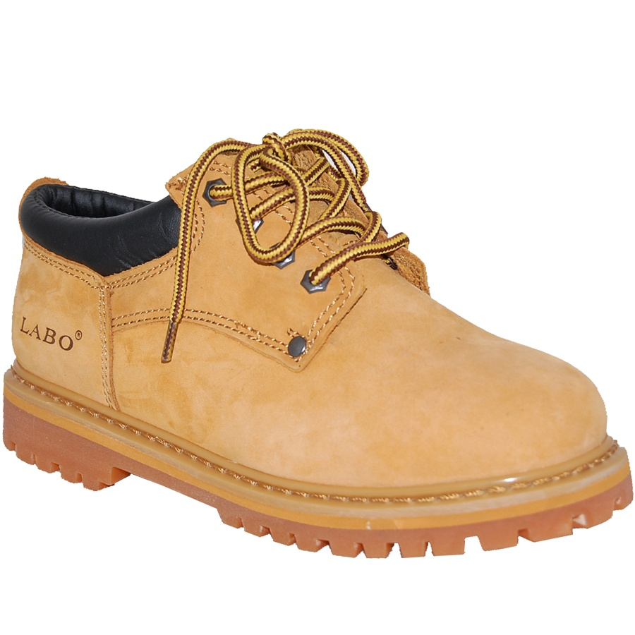 Premium Leather Low Rise Soft Toe Work Boot