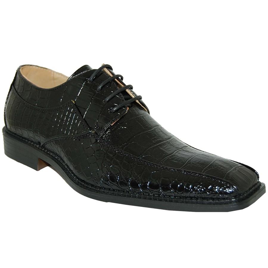 Patent Gloss Black Pearl Shine Dress Shoe
