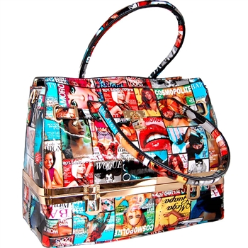 VOGUE FACES WOMEN FASHION BAG