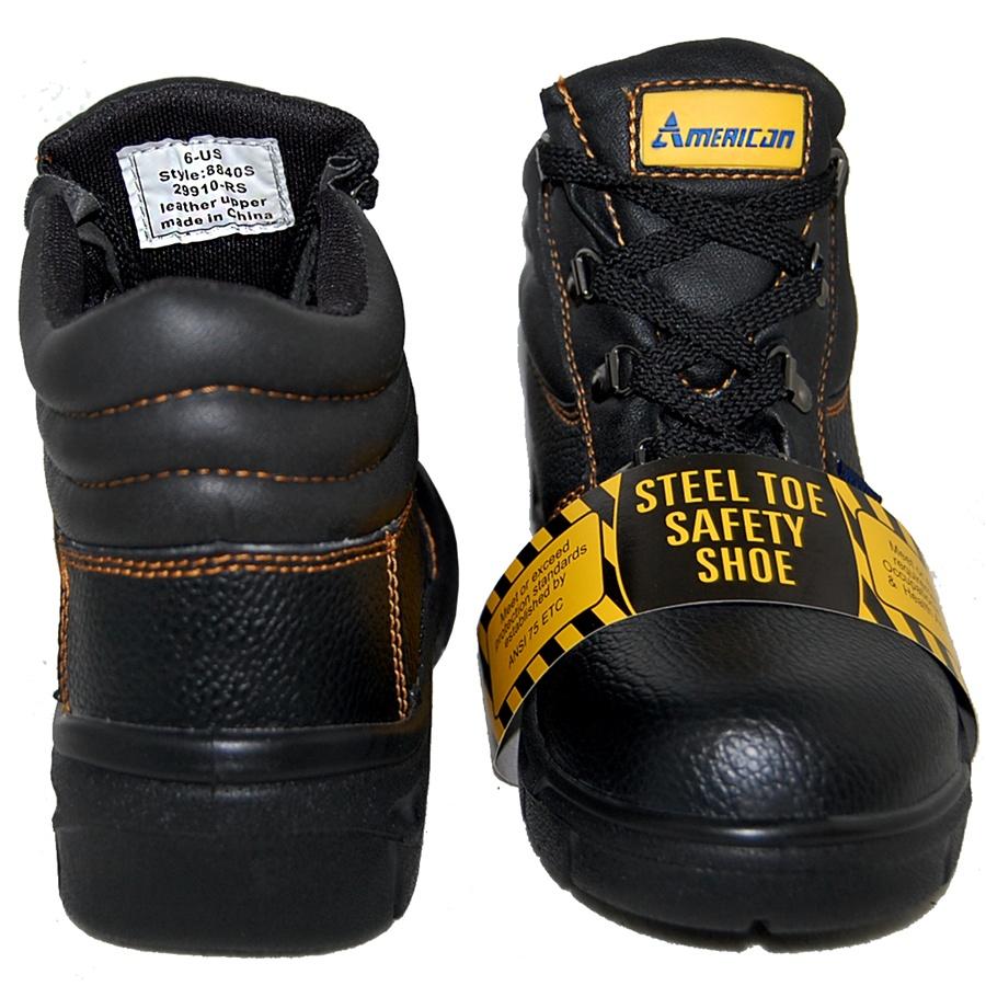 STEEL TOE Lightweight Waterproof Direct Attach Steel Toe 5†Work ...