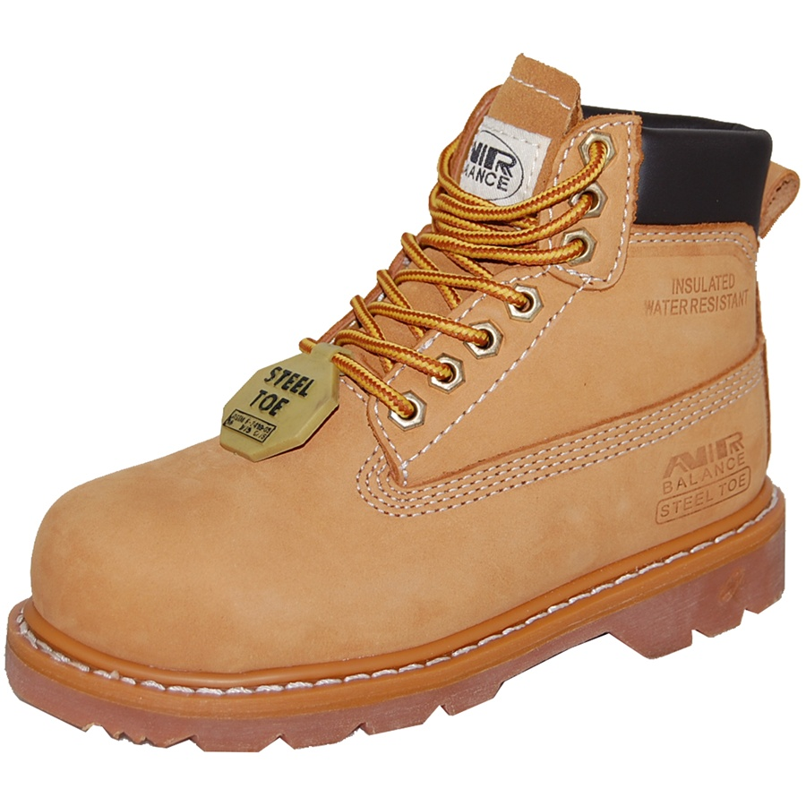 AMERICAN SHOE FACTORY GOODYEAR WELT STEEL TOE Leather Men's Work Boot at Sears.com