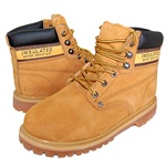 "Premium Leather 6"" Soft Toe Work Boot & Outdoor Shoes"