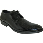 HOUSTON BLACK LACE-UP DRESS SHOE