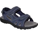Comfort Sandal with Strap in Blue