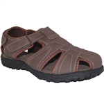 Comfort Sandal with Strap In Brown
