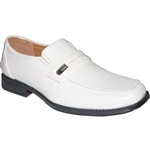 KRAZY SHOE ARTISTS WHITE DRESS SHOES
