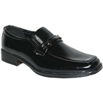 KRAZY SHOE ARTISTS BLACK CLASSIC DRESS MEN SHOES