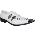 ROCK & ROLL EXOTIC MEN'S DRESS SHOE IN WHITE