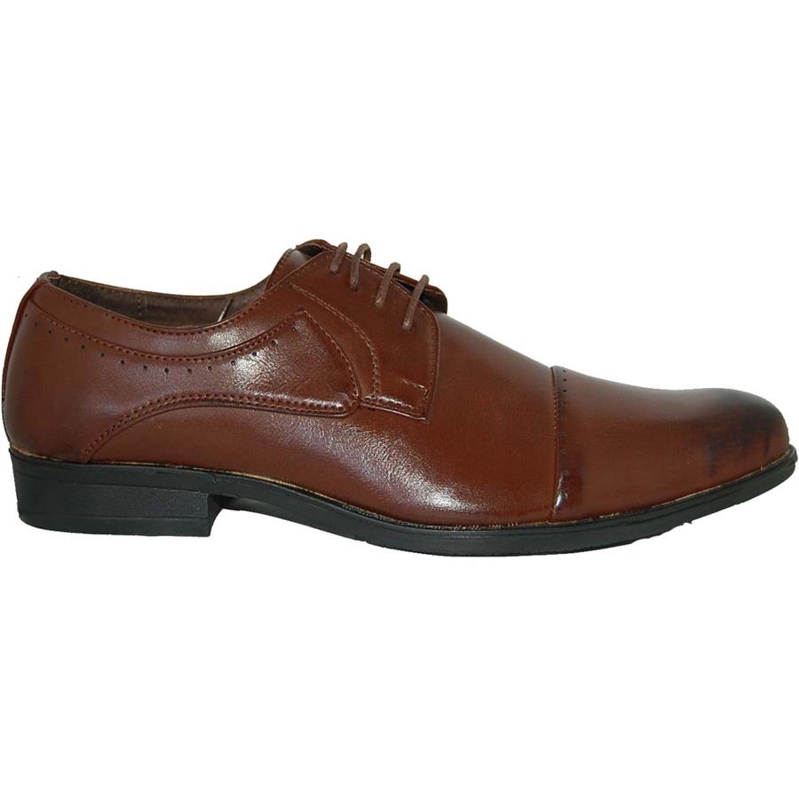 Designer Shoe Factory Saiioy Classic Cap Toe Casual Shoe