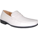 DESIGNER SHOE FACTORY WHITE DRESS SHOES
