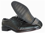 CHRISTOPHER BLACK LACE DRESS SHOES