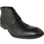 ART OF SHOES MEN'S FASHION DRESS BOOT IN BLACK