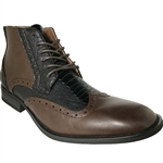ART OF SHOES MEN'S FASHION DRESS BOOT IN COFFEE