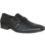 DESIGNER SHOE FACTORY YANKEE BLACK DRESS SHOES