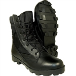 Combat | Tactical Leather & Canvas Upper Speed Lace With Side Zipper Jungle Boot