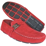 ART OF SHOES ELIAS RED CAUSAL SLIP-ON