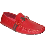 KRAZY SHOE ARTISTS SNOOP DOGG RED CASUAL MEN SHOES