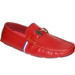 KRAZY SHOE ARTISTS RED CASUAL MEN SHOES