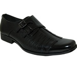 Classic Men Shoe With Side Buckle