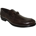 Classic Men Coffee Dress Shoe