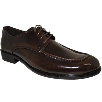 Classic Men Slip-on Coffee Dress Shoe