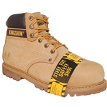 "6"" Genuine Leather Steel Toe Work Boot & Outdoor Shoes for Men"