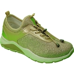 Republic Shoes | Women Gold Lightweight Breathable Fashion Sneaker