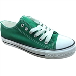 Republic Shoes | Designer Cut Sneakers In Green