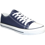 Republic Shoes | Designer Cut Sneakers In Navy