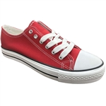 Republic Shoes | Designer Cut Sneakers In Red