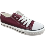 Republic Shoes | Designer Cut Sneakers In Wine