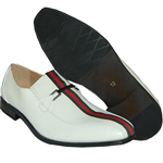 KRAZY SHOE ARTISTS- REPUBLIC WHITE DRESS SHOES FOR MEN WITH STYLE