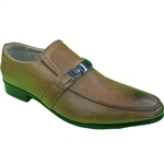 KRAZY SHOE ARTISTS- REPUBLIC CAMEL DRESS SHOES FOR MEN WITH STYLE