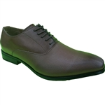 REPUBLIC | KRAZY SHOE ARTISTS CLASSIC MEN'S DRESS SHOES IN COFFEE