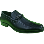 KRAZY SHOE ARTISTS- REPUBLIC BLACK DRESS SHOES FOR MEN WITH STYLE