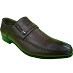 KRAZY SHOE ARTISTS- REPUBLIC COFFEE DRESS SHOES FOR MEN WITH STYLE