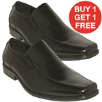 REPUBLIC | KRAZY SHOE ARTISTS BLACK DRESS SHOES FOR MEN WITH STYLE