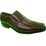 REPUBLIC | KRAZY SHOE ARTISTS COFFEE DRESS SHOES FOR MEN WITH STYLE
