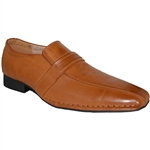 DESIGNER SHOE FACTORY SAM CAMEL DRESS SHOES