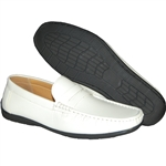KRAZY SHOES ARTISTS WHITE SLIP-ON MEN'S CASUAL SHOE