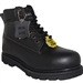 A BLACK STEEL TOE WORKBOOT FOR HARD WORKING MEN'S