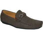 Eco Friendly Dark Brown Men's Driving Shoes