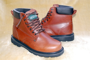 "STEEL TOE Rich Oiled Leather 6"" Work Boot & Outdoor Shoes"