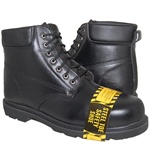 BAD BOY Genuine Leather Steel Toe Work Boot