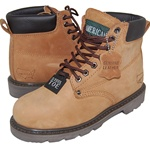 JACK Genuine Leather Steel Toe Work Boot for Men