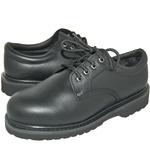 Industrial Leather Upper Quality Rugged Work Oxfords