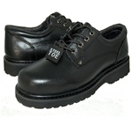 BEST STEEL TOE BLACK LEATHER OXFORD