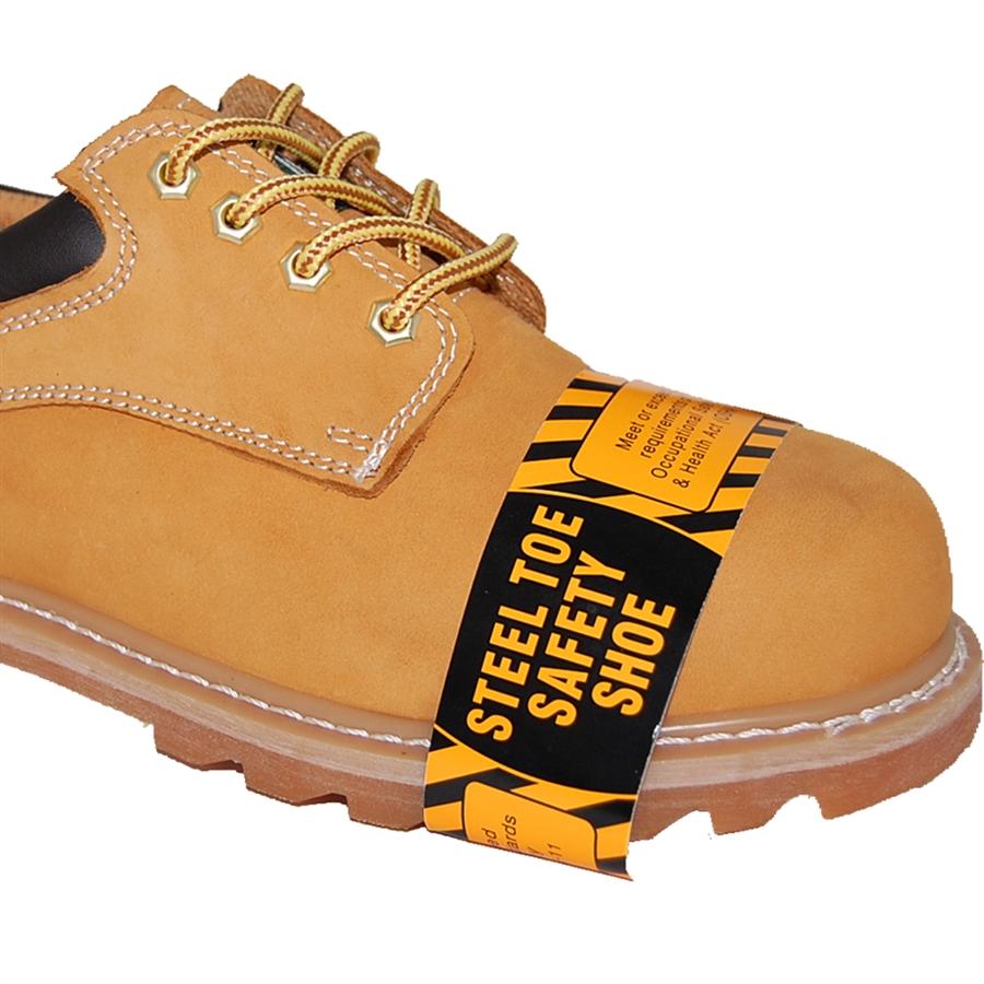 Shoe Factory: BEST STEEL TOE WHEAT LEATHER OXFORD