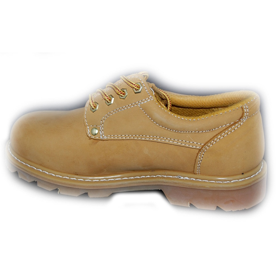 Best Wheat Leather Oxford Rugged Shoe For Men